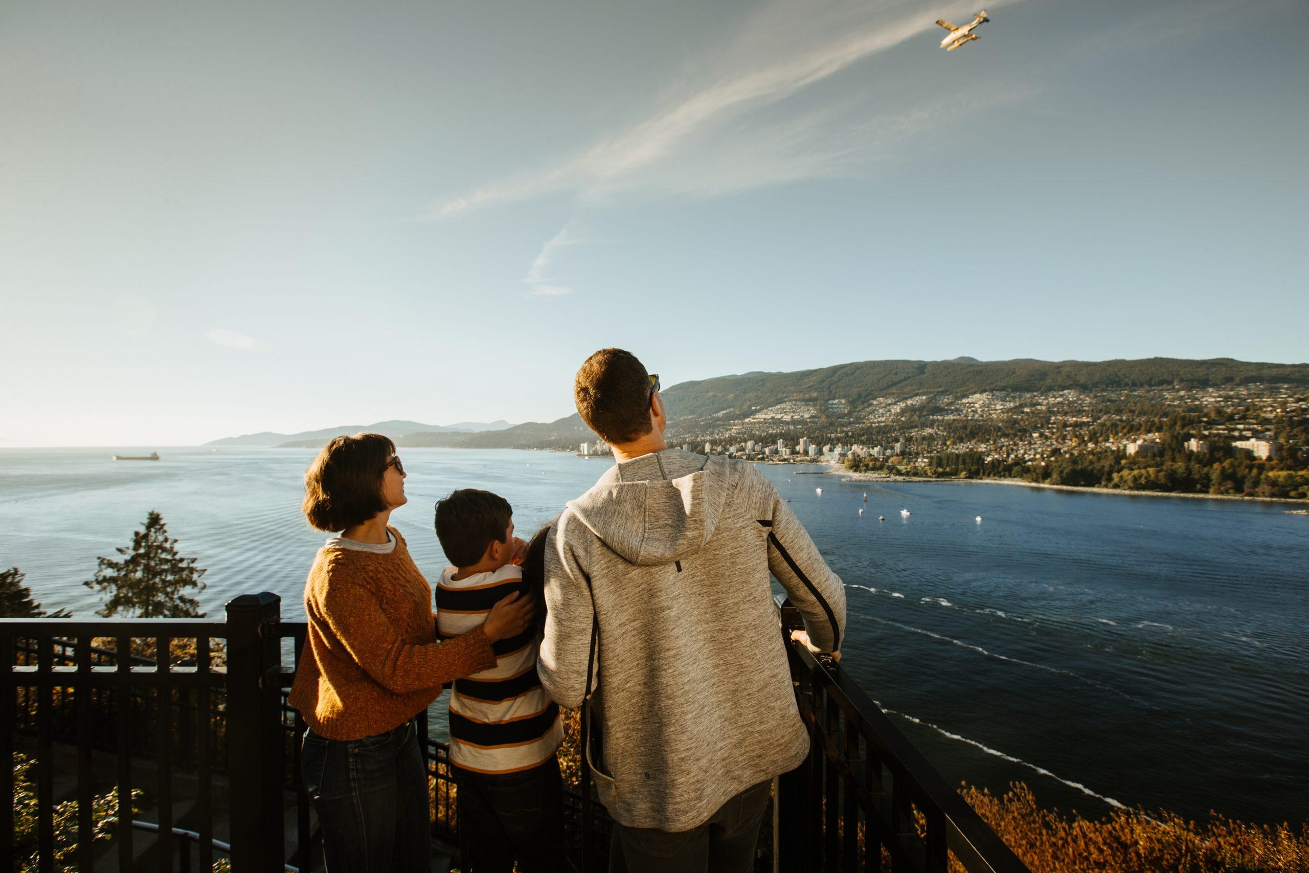 Aussicht auf Vancouver vom Prospect Point