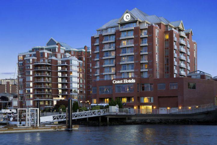Coast Victoria Hotel Vorderseite