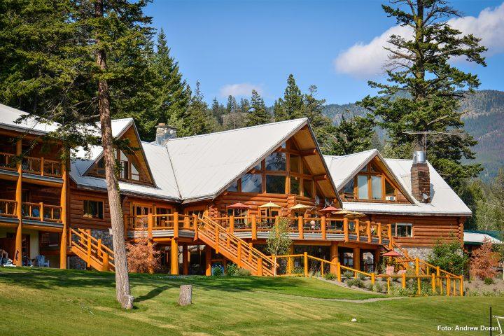 Tyax Lodge von vorne