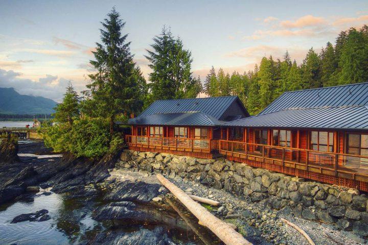 Wild Renfrew Cottages am Ufer