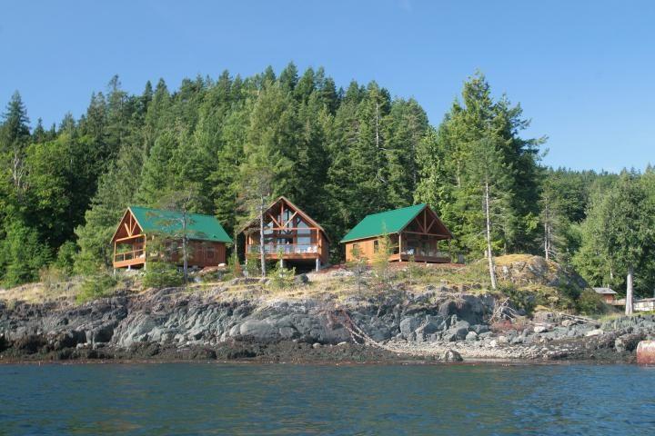 Brown's Bay Resort Cabins mit Meer