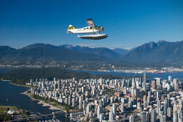 Seaplane über Vancouver