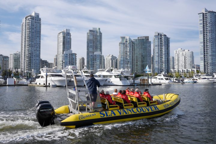 Auf Bootstour mit Sea Vancouver